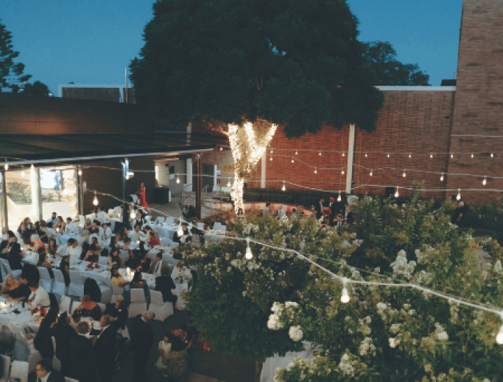 Courtyard Evening Long Table
